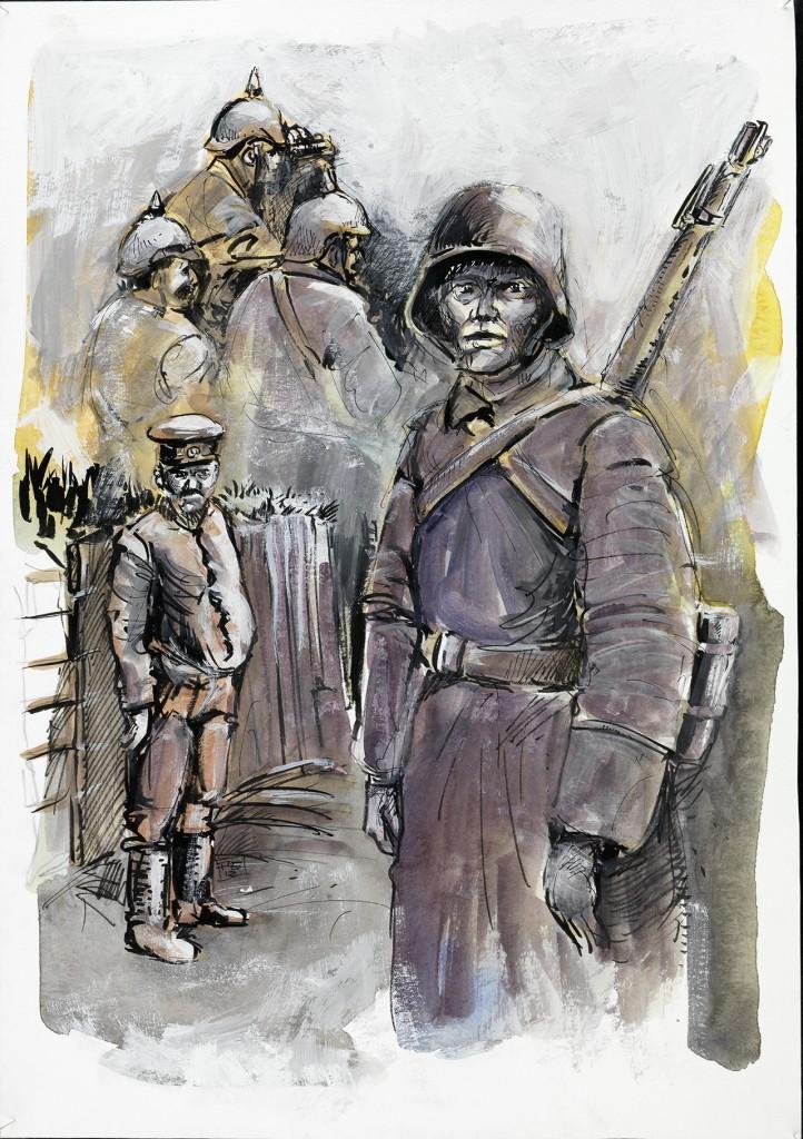Im Westen nichts Neues, Erich Maria Remarque, 100 Jahre Erster Weltkrieg, Peter Eickmeyer, Graphic Novel,