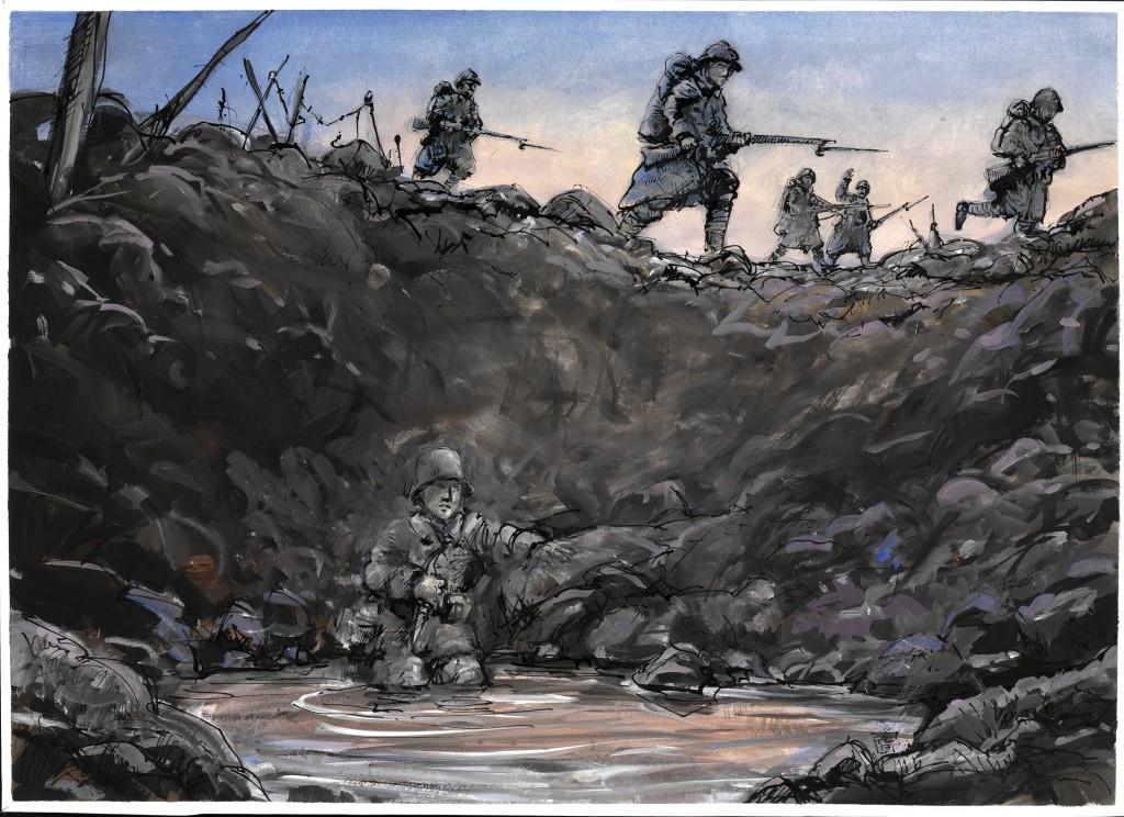 Im Westen nichts Neues, Erich Maria Remarque, Peter Eickmeyer, 100 Jahre Erster Weltkrieg, Graphik Novel,